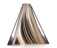 внешняя сторона черной книги вниз Стоковая Фотография RF