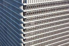 Внешняя текстура здания небоскреба Стоковое Изображение RF