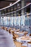 внешняя установка ресторана Стоковые Фотографии RF