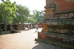 Вне виска Bagan стоковое изображение