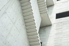 Вне конкретной лестницы Стоковое Изображение RF