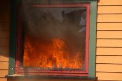вне окно дыма стоковые изображения rf