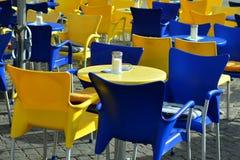 Вне café Стоковое фото RF