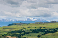 Вне Coyhaique, Чили, в северной Патагонии стоковые фотографии rf