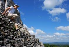 вниз гулять piramid Стоковые Изображения RF