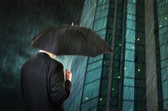 вниз дождь Стоковая Фотография RF
