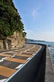вниз дорога Стоковое фото RF