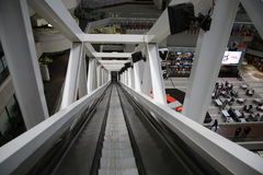 вниз длинний путь Стоковое фото RF