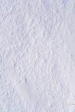 вниз как раз положенный заход солнца светлого снежка вниз Стоковые Фото