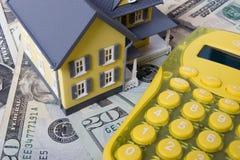 вниз компенсация ипотеки Стоковое фото RF