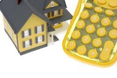 вниз компенсация ипотеки стоковое изображение rf