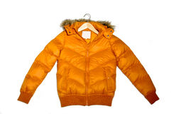 вниз куртка Стоковая Фотография