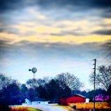 Вниз на ферме Стоковые Фотографии RF
