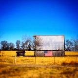 Вниз на ферме Стоковое Изображение RF