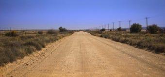 Вниз с дороги гравия Стоковая Фотография RF