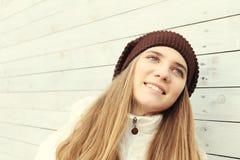 Внимательность волос зимы Стоковое Фото
