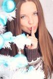Внимательность волос зимы Стоковая Фотография RF