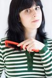 Внимательность волос Стоковые Фотографии RF