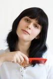 Внимательность волос Стоковые Изображения RF