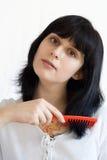 Внимательность волос Стоковые Фото