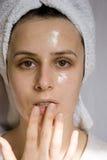 Внимательность кожи Стоковое фото RF