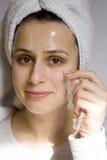 Внимательность кожи Стоковое Изображение