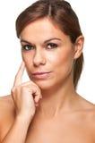 Внимательность кожи Стоковые Фотографии RF