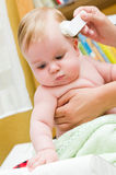 внимательность младенца Стоковые Изображения RF