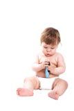 внимательность младенца Стоковое фото RF
