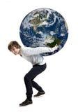 Внимательность о планете стоковая фотография