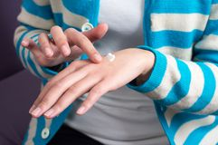 Внимательность руки Стоковые Фотографии RF