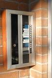 Внутренная связь экстерьера жилого дома Стоковые Фото