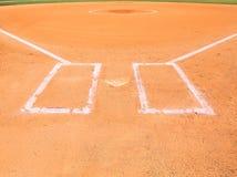 Внутреннее поле бейсбола Стоковое фото RF