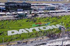 Внутреннее поле на скоростной дороге Daytona Стоковые Фото