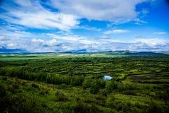 Внутреннее река Монголии-Erguna стоковое изображение