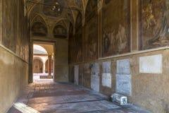 Внутреннее старое кладбище Стоковые Фото