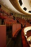 Внутреннее художественное оформление концертного зала сосиски Staatsoper государственной оперы Вены стоковые изображения rf
