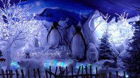Внутреннее художественное оформление: Северный полюс Стоковое Изображение