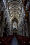 Внутреннее художественное оформление собора St. John баптист Майкл и St Gudula Стоковые Фото