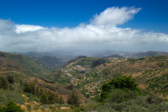 Внутреннее центральное Gran Canaria Стоковая Фотография
