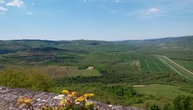Внутреннее Istria стоковая фотография rf