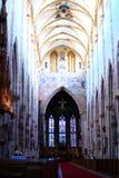 внутреннее ulm монастырской церкви Стоковое Изображение RF