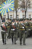 внутренние войска воинов Стоковые Фотографии RF