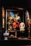 Внутренние детали замка Frederiksborg в Hillerod, Дании стоковое фото