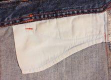 внутренние джинсыы Стоковое фото RF