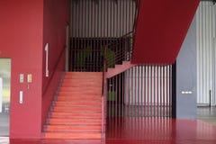 внутренние лестницы, внутренняя гостиница лестниц, Стоковое фото RF