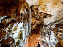 Внутренние пещеры Стоковое Изображение