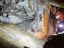 Внутренние пещеры Стоковое фото RF