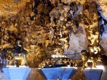 Внутренние пещеры Стоковая Фотография