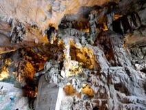 Внутренние пещеры Стоковые Фото